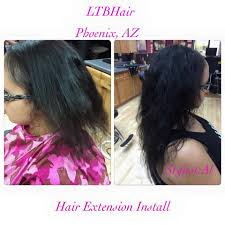 curly hair extensions before and after ltbhair salon photo gallery