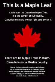 maple tree symbolism oh no canada commentary by captain captain paul watson facebook