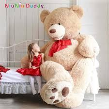 big teddy 200cm big size usa teddy large bearskin in