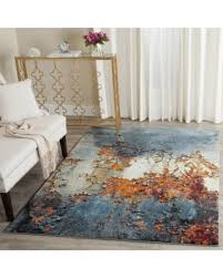 2 X 5 Area Rugs Save Your Pennies Deals On Safavieh Glacier Abstract Watercolor