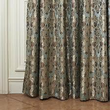 iyuegou classic damask energy saving grommet top curtain draperies
