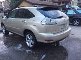 lexus rx330 nairaland registered rx330 lexus 2004 for sale very clean 2 6m net autos