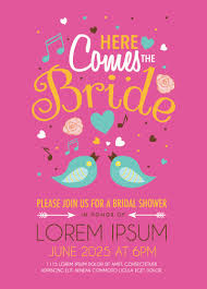 Wedding Invitation Card Free Download Cute Bird Wedding Invitation Card Vector Free Vector Graphic