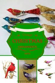 vintage christmas ornaments bird antique vintage gallery