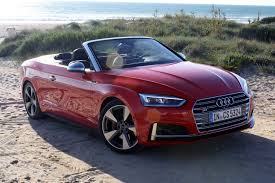 2018 audi a5 cabriolet and audi s5 cabriolet review autoguide