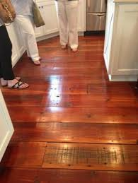 100 year pine floors our house