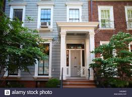 Federal Style House Brooklyn Heights Brooklyn View Of Federal Style Wooden Portico