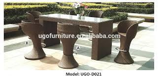 Garden Bar Table And Stools Garden Bar Furniture Wicker Outdoor Garden Bar Patio Furniture 6