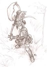 monster hunter sketch by polarityplus on deviantart