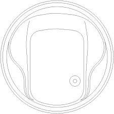 vasche dwg vasca rotonda formato dwg diametro 1 60