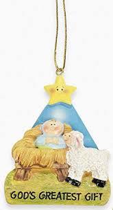 baby jesus god s greatest gift ornament