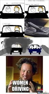 Driving Meme - women driving by drunkenmaster23 meme center