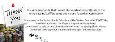yonkers middle high homepage