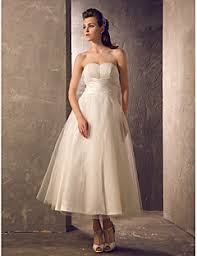 teacup wedding dresses tea length wedding dresses search lightinthebox