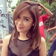 philipines haircut style needs a better angle but super simple hair pinterest
