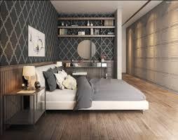 papier peint design chambre chambre adulte design 25 conceptions cool et modernes bed room
