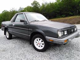 1986 subaru brat interior 1986 subaru brat gl 4wd 1 8l manual for sale in landrum sc