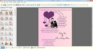 design your own wedding program free wedding invitation software weddingwaffle co