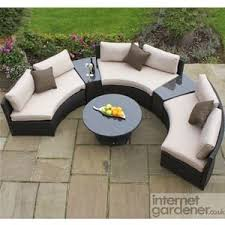 The  Best Garden Sofa Set Ideas On Pinterest Conservatories - Round outdoor sofa