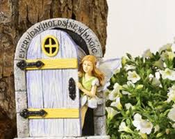 Garden Decor Accessories Fairy Garden Door Etsy