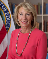 where does trump live betsy devos wikipedia
