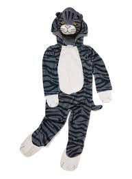 cat costume for toddlers fancy dress kids grey mog the cat costume 1 8 years tu clothing