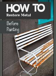 How To Paint Metal Patio Furniture Best 25 Metallic Furniture Ideas On Pinterest Metallic Paint