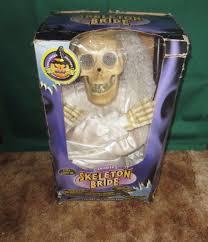 image gemmy animated bride skeleton halloween prop decor 3 5