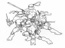 teenage mutant ninja turtles coloring pages printable you will boy