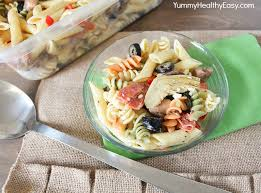 best ever pasta salad recipe with homemade dressing yummy