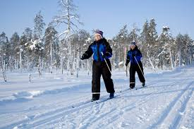 cross country skiing trip day in kemi lapland welcome in finland