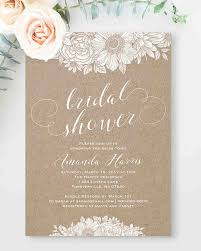 bridal shower invites 10 affordable bridal shower invitations you can print at home