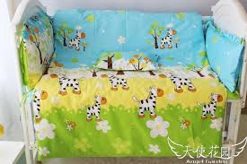 Kid Bedding Sets For Girls by Baby Crib Set For Girls And Boys Kids Bed Sheet 100 Cotton Baby