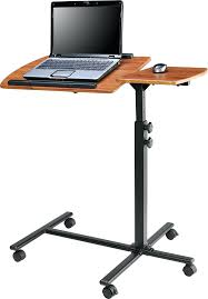 Laptop Desk With Printer Shelf Small Desk With Wheels Computer Workstation Laptop Desk With