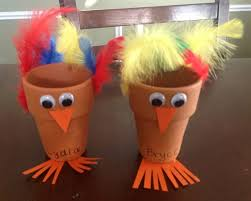 Kids Thanksgiving Crafts Pinterest Turkey Flower Pot Thanksgiving Craft For Kids Thanksgiving Ideas