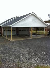 attached carport custom garage gallery