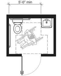 Handicapped Bathroom Design Ada Bathroom Designs Floor Space At Toilet Or Bidet In Accessible