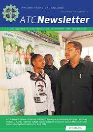atcnewsletter november 2014 by arnold njuki issuu