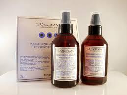 brume d oreiller pillow mist product review l u0027occitane aromachologie relaxing range the