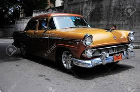 classic american cars cuba havana june 26 2013 beautiful renovated classic old