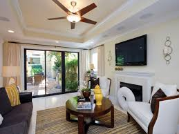 Ceiling Fan In Living Room by Living Room Fabulous 3 Blade Contemporary Ceiling Fan No Light