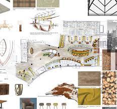 reimann interior hotel lobby design interior sketches