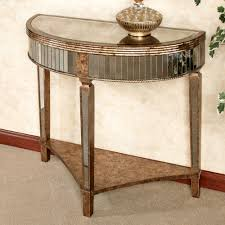 Mirrored Console Table Mina Antiqued Mirrored Console Table