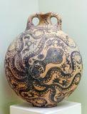 Minoan Octopus Vase Minoan Octopus Fresco Stock Image Image Of Mythology 29272811