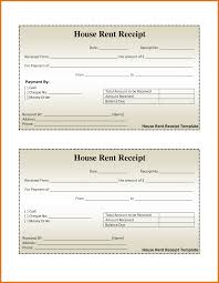 8 sample rent receipt itinerary template sample