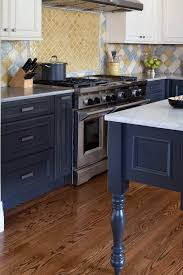 blue base kitchen cabinets blue cabinets with granite countertops design ideas