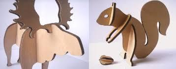 whimsical wooden animal kits