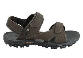 merrell mens mojave sport water friendly adjustable strap sandals