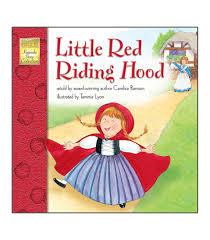 red riding hood storybook grade pk 3 carson dellosa