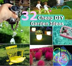 Garden Improvement Ideas 32 Cheap Diy Garden Ideas Diycozyworld Home Improvement And